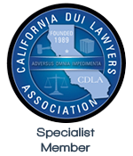 California DUI Lawyers Association | Specialist Member